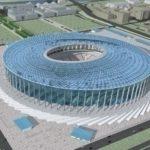 будущий стадион в нижнем