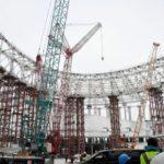 подготовка стадиона к ЧМ 2018