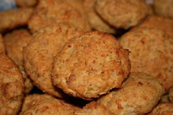 печенье творожно овсяное