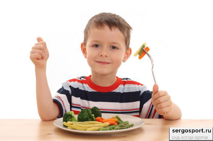 овощи и фрукты помогут избежать детского ожирения
