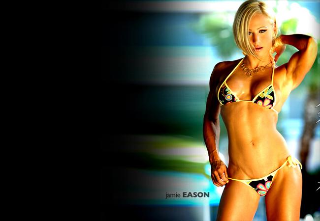Джейми Исон американская фитнесмодель