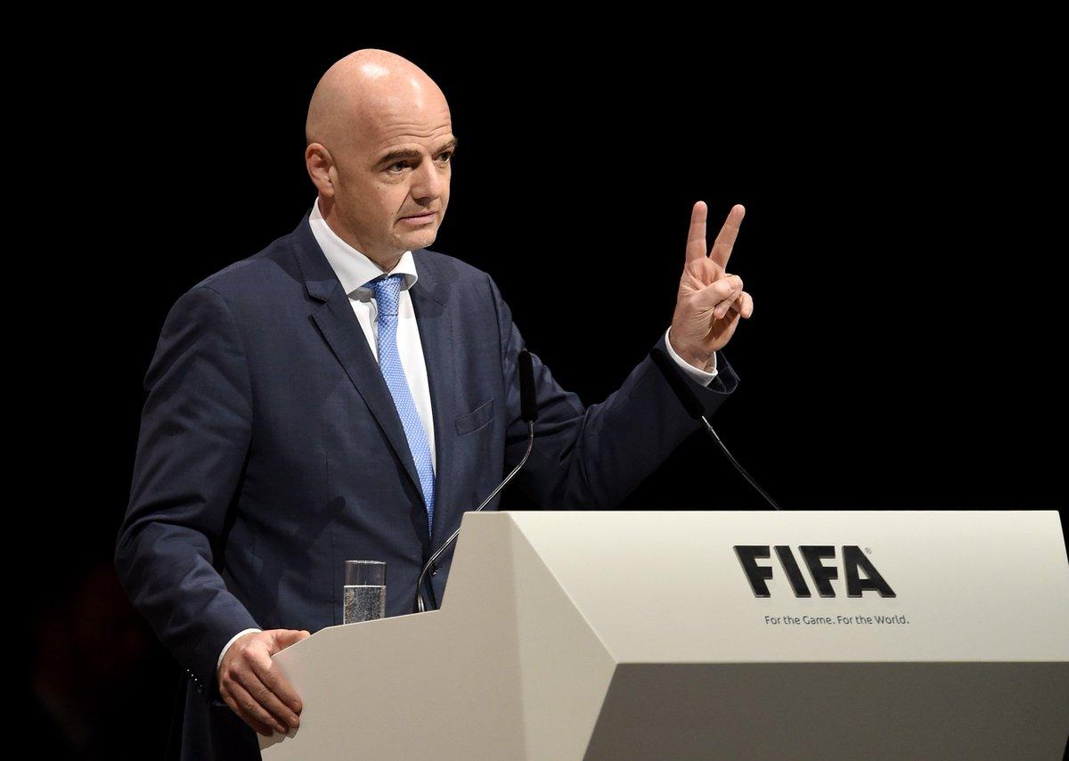 новый президент ФИФА