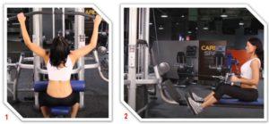 тренажеры для женщин тяговые блоки