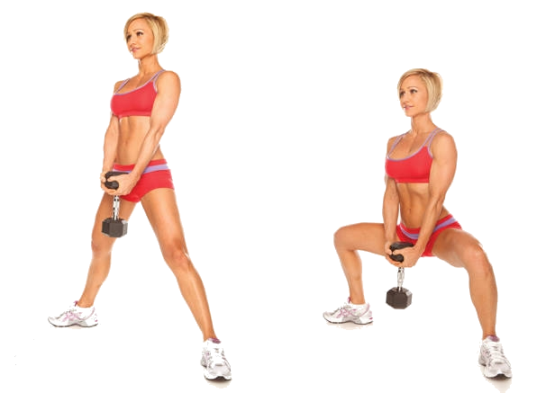 плие приседание как упражнение для мышц ног