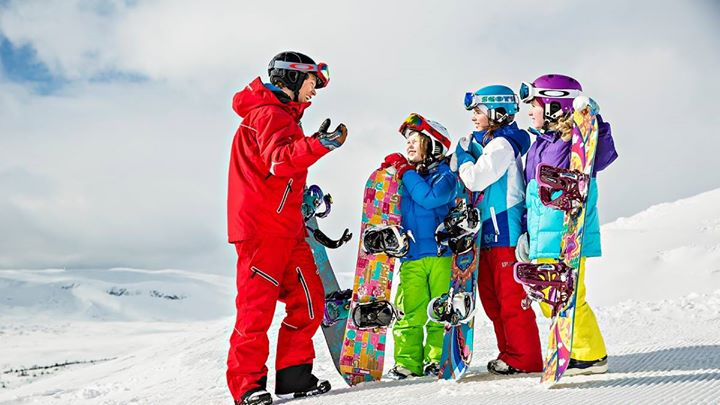 детский сноубординг