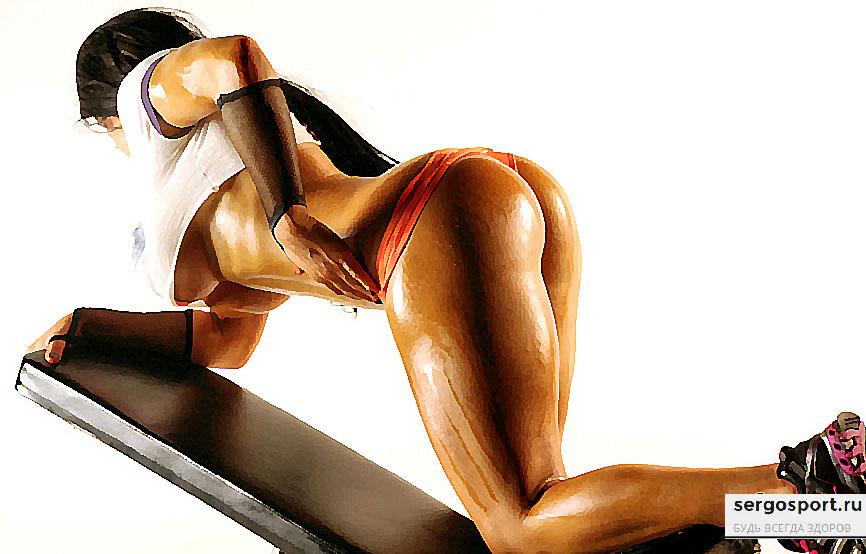упражнения для ягодиц ног