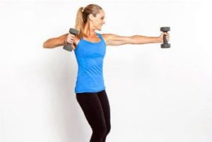 упражнение для сжигание жира на руках