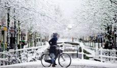 Можно ездить на велосипеде зимой