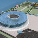 стадион к ЧМ 2018 на стрелке